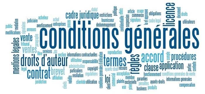 Conditions générales de vente et d'utilisation cocooning.net
